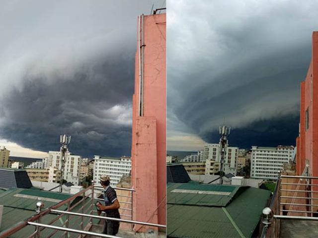 """Vụ mây kỳ quái tựa UFO ở Sầm Sơn: """"Ảnh tôi chụp là thật 100%"""""""