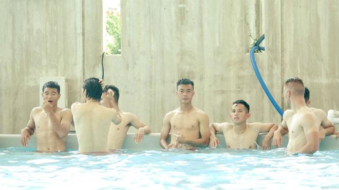 U23 Việt Nam luyện tuyệt chiêu như Barca, đợi hạ Busan - 3