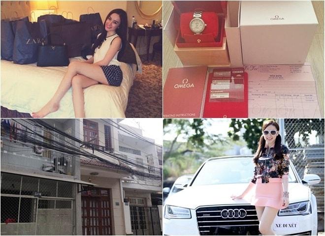 Khối tài sản đáng nể của Á hậu Huyền My, Angela Phương Trinh - 3