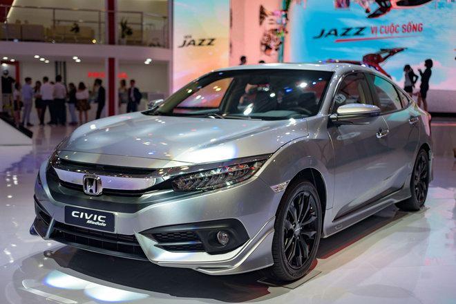 Honda Civic Modulo thêm mạnh mẽ với bodykit thể thao - 1
