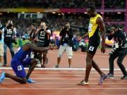 """Thể thao - Usain Bolt thất bại, vẫn khiến """"tân vương"""" chạy 100m quỳ gối"""