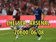 Bóng đá - Chelsea – Arsenal: SAO 100 triệu bảng so tài giành Siêu cúp