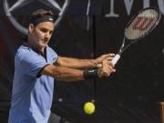 Thể thao - Clip hot Rogers Cup: Khi Federer hóa Nadal, tạo nên kỳ tích