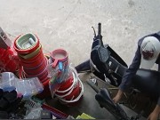An ninh Xã hội - Clip: Chê xe máy, thanh niên trộm xe đạp trong 10 giây