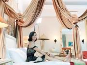Đời sống Showbiz - Lã Thanh Huyền khoe kỳ nghỉ siêu sang trong căn phòng tổng thống
