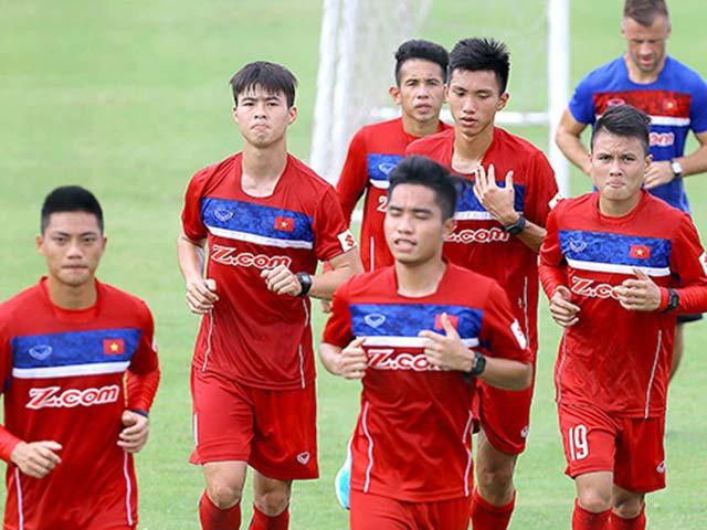 U23 Việt Nam: Công Phượng tập như VĐV điền kinh chờ xông đất SEA Games - 3
