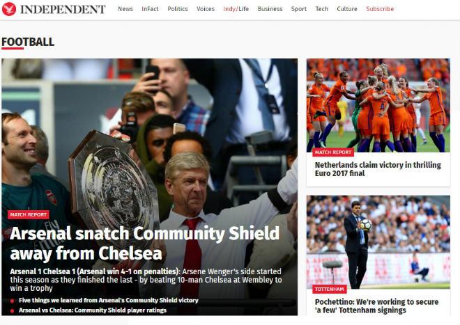 """Arsenal mừng """"ăn 3"""": Báo chí Anh ngợi ca """"Pháo thủ"""" đổ máu đoạt cúp - 3"""