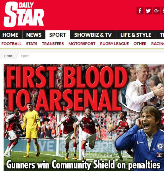 """Arsenal mừng """"ăn 3"""": Báo chí Anh ngợi ca """"Pháo thủ"""" đổ máu đoạt cúp - 5"""