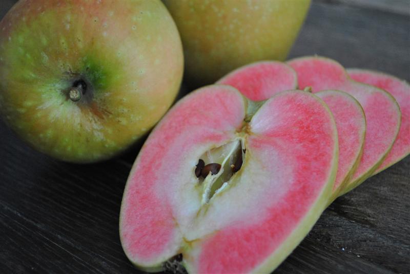 """Mê mẩn loại táo Mỹ lạ """"xanh vỏ - hồng lòng"""" siêu dễ thương - 3"""