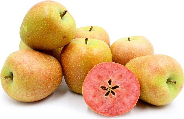 """Mê mẩn loại táo Mỹ lạ """"xanh vỏ - hồng lòng"""" siêu dễ thương - 4"""