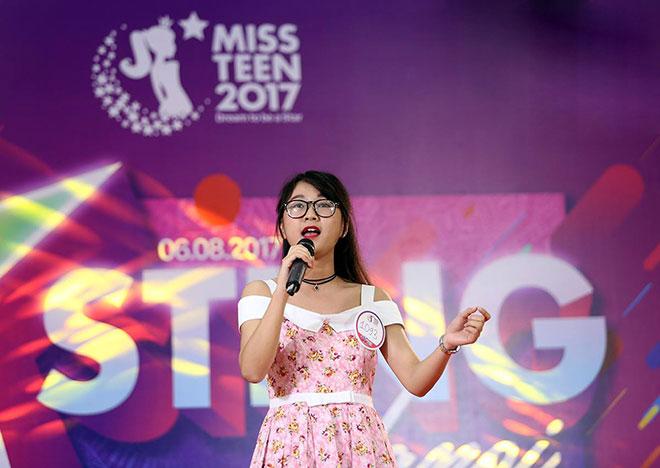 Nhan sắc xinh đẹp nổi bật của dàn thí sinh Miss Teen 2017 - 7