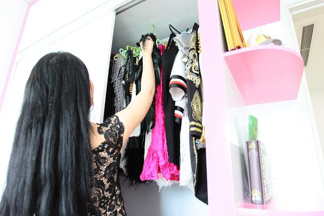 Linh Miu mặc váy ngủ nhảy sexy trong nhà 4 tỷ mới tậu - 15