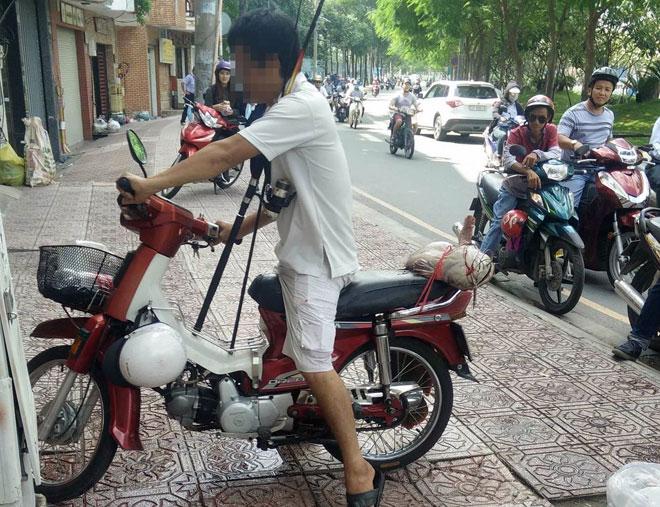 """Câu được cá """"khủng"""" dài 1m giữa trung tâm Sài Gòn - 4"""