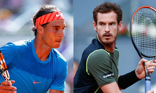 """BXH tennis 7/8: Nadal """"kỳ quan"""" thứ tư, Murray lại """"kiếp số 2"""" - 1"""