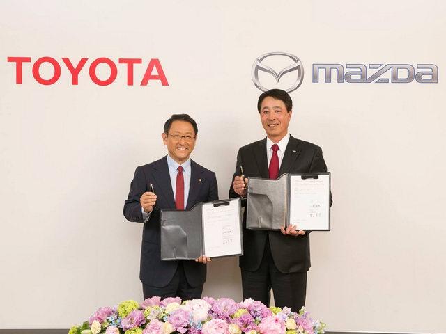 Toyota và Mazda hợp lực phát triển sản phẩm - 1
