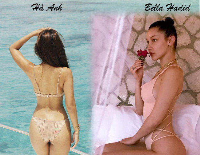 Các ngôi sao Hollywood là những người tiên phong cho những kiểu bikini màu nude gợi cảm. Bella Hadid là một ví dụ điển hình. & nbsp;Chúng không chỉ thích hợp với những cô nàng nóng bỏng có nước da nâu bánh mật mà còn cực hợp với những cô gái ngọt ngào, duyên dáng. & nbsp;