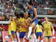Thể thao - Bóng chuyền nữ: Hấp dẫn siêu kinh điển Brazil - Italia, lên đỉnh thế giới