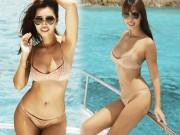 """Bikini dễ gây hiểu nhầm không mặc gì của  """" thần Vệ Nữ Việt """""""