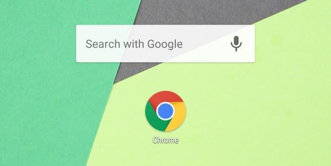 Chrome cho Android nâng cấp, cho phép tìm kiếm ngay từ màn hình chính - 1