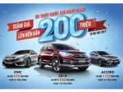 Ô tô - Honda Việt Nam công bố giá mới hấp dẫn cho CR-V, Civic và Accord