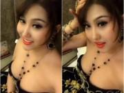 Clip Phi Thanh Vân khoe vòng 1 lấp ló sau đại phẫu thuật thẩm mỹ