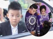Phim - Con trai quấn quýt Lê Phương không rời trong ngày mẹ tái hôn