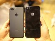 Thời trang Hi-tech - Ảnh: Bphone 2017 lép vế thế nào khi đứng cạnh iPhone 7 Plus?