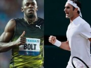 """U.Bolt tay chơi 30 tuổi toan  """" về già """" , Federer 36 san bằng tất cả"""