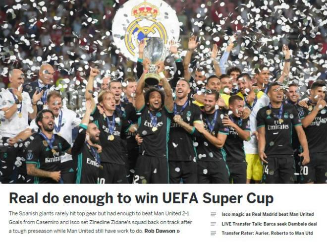Báo chí thế giới: Real bất khả chiến bại, MU - Mourinho thua tâm phục - 3