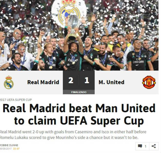 Báo chí thế giới: Real bất khả chiến bại, MU - Mourinho thua tâm phục - 5