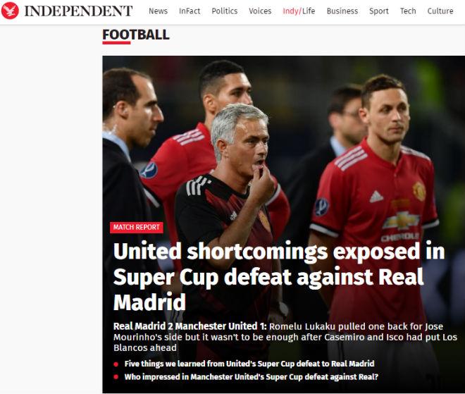 Báo chí thế giới: Real bất khả chiến bại, MU - Mourinho thua tâm phục - 2