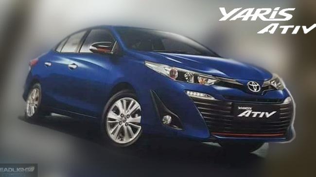 Toyota Yaris Ativ sắp ra mắt, rẻ hơn cả Vios