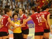 Thể thao - Bóng chuyền nữ châu Á: Chân dài Việt Nam đại thắng trận ra quân