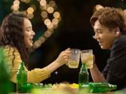 """Nhã Phương đòi uống rượu để lấy  """" cảm xúc """"  khiến Ngô Kiến Huy phát hoảng"""