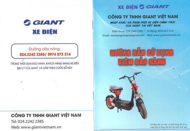 Những lưu ý khi mua xe điện 133DS của GIANT Việt Nam - 5