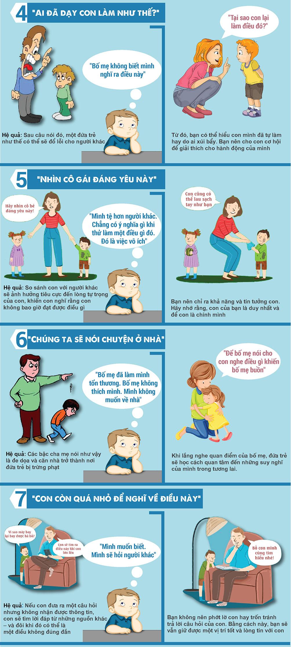 7 điều cha mẹ tuyệt đối tránh nói làm tổn thương trẻ - 2