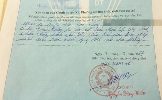"""HN: Tân sinh viên bị phê """"lý lịch xấu"""" do chưa đóng tiền nông thôn mới"""