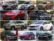 Tin tức ô tô - 10 mẫu xe bán chạy nhất Việt Nam tháng 7/2017