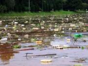 Phát hoảng khi thấy hồ Xuân Hương mộng mơ như bể chứa rác