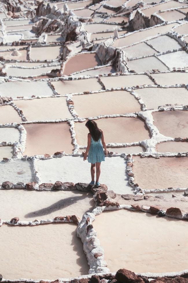 Kỳ quan hồ muối bậc thang độc đáo ở Peru - ảnh 3