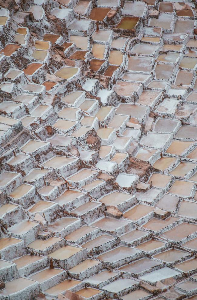 Kỳ quan hồ muối bậc thang độc đáo ở Peru - ảnh 4