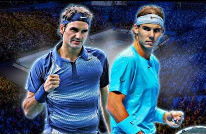 """Nadal thua sốc """"tự bắn vào chân"""": Federer rất gần ngôi số 1"""