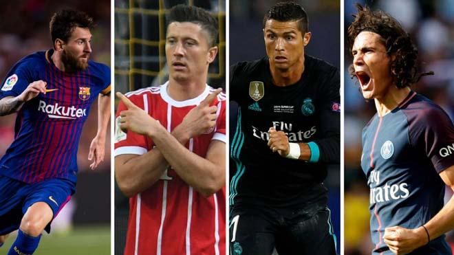 """Đọ tam tấu châu Âu: Messi, Ronaldo phải nể bộ ba """"S-M-L"""" - 1"""