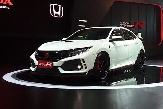 Honda Civic Type R giá từ 1,69 tỷ đồng ở Đông Nam Á