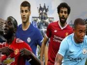 Bóng đá - Ngoại hạng Anh 2017/18: MU được đánh giá cao, vẫn khó vô địch