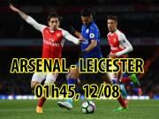"""Bóng đá - Arsenal – Leicester City: """"Pháo dàn"""" dọa cựu vương"""
