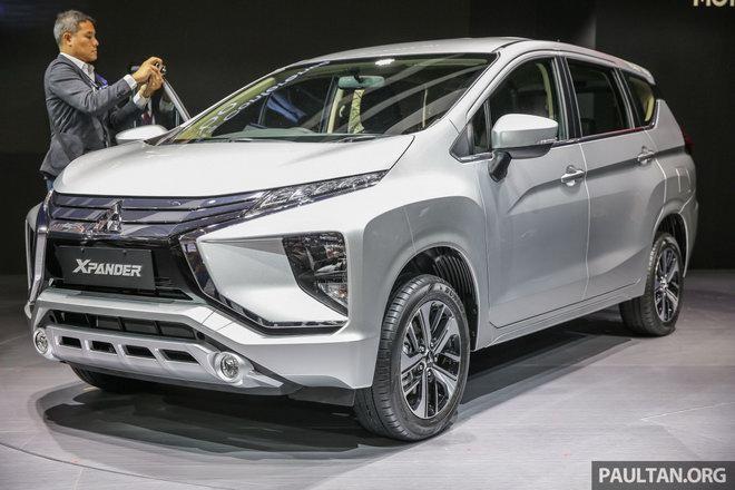 MPV cỡ nhỏ giá rẻ Mitsubishi Xpander chính thức ra mắt - 1