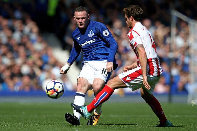 Video, kết quả bóng đá Everton - Stoke: Rooney tưng bừng kỷ lục 4.869 ngày - ảnh 1
