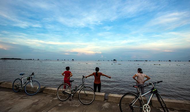 Về Đồng Châu xem cào ngao, ngắm hoàng hôn hoang hoải bên bờ biển hoang sơ - ảnh 12