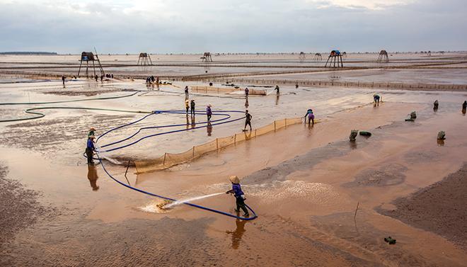 Về Đồng Châu xem cào ngao, ngắm hoàng hôn hoang hoải bên bờ biển hoang sơ - ảnh 13